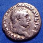 Photo numismatique  Monnaies Empire Romain VITTELIUS, VITTELIO Denier, denar, denario, denarius VITELLIUS, denier Rome en 69, CONCORDIA PR, 18mm, 3,26 grms, RIC.73 TB à TTB R!