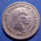 Photo numismatique  Monnaies Monnaies étrangères Luxembourg 5 Centimes Luxembourg, Letzburg, Guillaume, Wilhelm, 5 centimes 1908, TTB