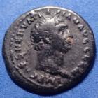 Photo numismatique  Monnaies Empire Romain TRAJAN, TRAJANUS, TRAIAN, TRAIANO Denier du Limes, Limes denarius, Limes denar TRAJAN, TRAJANUS, denier dit du