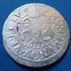 Photo numismatique  Monnaies Monnaies/medailles d'Alsace Murbach et Lure, Murbach und Luders 12 Kreuzers MURBACH et LURE, MURBACH und LUDERS, Léopold von Osterreich 1614 - 1626, 12 kreuzers, Guebwiller, 26mm, 2,15 grms, Divo 90 petites ébrêchures TTB+/SUP