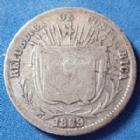 Photo numismatique  Monnaies Monnaies étrangères Costa Rica 10 Centavos COSTA RICA, 10 centavos 1889, Heaton Birmm, KM.129 B à TB