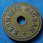 Photo numismatique  Monnaies Jetons Jeton de kermesse Jeton de jeux, spiel marken, ietton Jeton de jeux, jeton de service, kermesse Wagram, 24mm, TTB+
