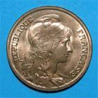 Photo numismatique  Monnaies Monnaies Françaises Troisième République 10 Centimes IIIème REPUBLIQUE 10 centimes type Dupuis 1921 G.277 SUP à FDC