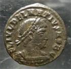Photo numismatique  Monnaies Empire Romain DELMACE, DELMATIUS, DELMATIO Follis réduit DELMATIUS, DELMACE, follis réduit frappé à Cysique, RIC.145 TTB à SUPERBE