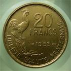 Photo numismatique  Monnaies Monnaies Françaises 4ème république 20 Francs 4ème République, 20 Francs G.GUIRAUD, 1953, G.865 SUPERBE