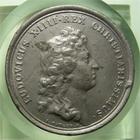 Photo numismatique  Monnaies M�dailles Louis XIV M�daille M�daille en �tain LOUIS XIV 1662, J.MAUGER.F, M�daille en �tain 40mm, LUDI EQUESTRES, TTB