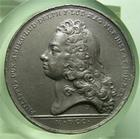 Photo numismatique  Monnaies M�dailles Louis XIV M�daille M�daille en �tain LOUIS XIV 1700, J.MAUGER.F, M�daille en �tain 40 mm, PHILIPPUS DUX ANDEG DUX � TTB
