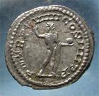 Photo numismatique  Monnaies Empire Romain CARACALLA Denier, denar, denario, denarius CARACALLA, Denier frappé à Rome en 216, Le soleil (sol), Cohen 359 TTB