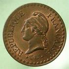 Photo numismatique  Monnaies Monnaies Françaises Deuxième République 1 Centime DEUXIEME REPUBLIQUE, Un centime Dupré 1849 A, Gadoury 84 SUPERBE +
