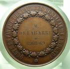Photo numismatique  Monnaies Médailles 19ème siècle Médaille Quête en faveur des pauvres du 16ème arrondissement, 1868.1869, Médaille cuivre, TTB