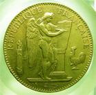 Photo numismatique  Monnaies Monnaies Fran�aises Troisi�me R�publique 100 Francs or Troisi�me r�publique, 100 Francs or type Genie, 1881 A, Gadoury 1137 TTB+