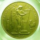 Photo numismatique  Monnaies Monnaies Françaises Troisième République 100 Francs or Troisième république, 100 Francs or type Genie, 1886 A, Gadoury 1137 TTB+