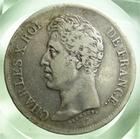 Photo numismatique  Monnaies Monnaies Françaises Charles X 5 Francs CHARLES X, 5 francs 1826 I Limoge, Gadoury 643 TB+