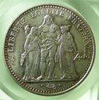 Photo numismatique  Monnaies Monnaies Fran�aises Cinqui�me R�publique 10 Francs Cinqui�me r�publique, 10 francs type Hercule 1973, Gadoury 813 SUPERBE � FDC