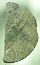 Photo numismatique  Monnaies Empire Romain AUGUSTE, AUGUSTUS, AUGUSTO 1/2 Dupondius de Nîmes NÎMES, NEMAUSUS, Augustus, Auguste, 1/2 dupondius, patine verte, S.1729 TB+