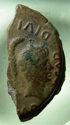 Photo numismatique  Monnaies Empire Romain AUGUSTE, AUGUSTUS, AUGUSTO 1/2 Dupondius, As, de Lyon LYON, César et Octave, 1/2 dupondius COPIA, 8.27 grms, RPC 515, TTB+ belle patine rare!