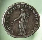 Photo numismatique  Monnaies Empire Romain TRAJAN, TRAJANUS, TRAIAN, TRAIANO Denier, denar, denario, denarius TRAJAN, TRAIAN, Denier frappé à Rome en 104.110, 3.44 Grammes, Cohen 81 Variante  TTB
