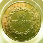 Photo numismatique  Monnaies Monnaies Françaises Troisième République 100 Francs or IIIème République, 100 francs or type genie, 1900 A, G.1137 TTB+