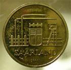 Photo numismatique  Monnaies Monnaies Françaises Sarre 20 Francs SARRE, 20 francs