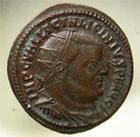 Photo numismatique  Monnaies Empire Romain LICINIUS I, LICINIO I,  Follis, folles,  LICINIUS Ier, follis, Nicomédie, buste radié, C.74 SUPERBE