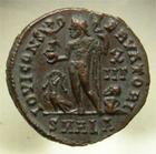 Photo numismatique  Monnaies Empire Romain LICINIUS I, LICINIO I,  Follis, folles,  LICINIUS Ier, follis, Alexandrie, buste radié, C.74 SUPERBE+ bel exemplaire!!