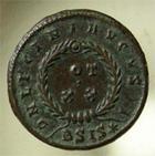 Photo numismatique  Monnaies Empire Romain LICINIUS I, LICINIO I,  Follis, folles,  LICINIUS Ier, follis réduit, Siscia, vot xx, C.14 TTB à SUPERBE