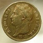 Photo numismatique  Monnaies Monnaies Française en or 1er Empire 20 Francs or NAPOLEON Ier, 20 francs or, 1810 A Paris, Gadoury 1025 TTB