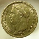 Photo numismatique  Monnaies Monnaies Françaises 1er Empire 20 Francs or NAPOLEON Ier, 20 francs or 1808 A Paris, Gadoury 1024 marque de virolle sinon TTB+