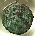 Photo numismatique  Monnaies Monnaies Byzantines 6ème siècle Follis, folles,  TIBERE II CONSTANTINE, 578.582, follis Antioche, 30/31 mm, 14.69 grammes, S.448 TB