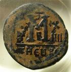 Photo numismatique  Monnaies Monnaies Byzantines 6ème siècle Follis, folles,  MAURICE TIBERE, 582.602, follis frappé à Antioche, 10.87 grammes, S.533 TB+