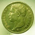 Photo numismatique  Monnaies Monnaies Françaises 1er Empire 20 Francs or NAPOLEON Ier, 20 francs or 1808 A, G.1024 TTB