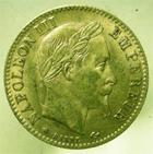 Photo numismatique  Monnaies Monnaies Française en or Second Empire 10 Francs or NAPOLEON III, 10 francs or, 1868 A, G.1015 TTB