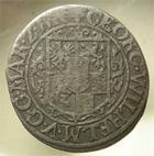 Photo numismatique  Monnaies Allemagne avant 1871 Allemagne, Deutschland, Brandenburg 1/24ème de Thaler BRANDENBURG, 1/24ème de thaler, 1624, KM.115 TB+