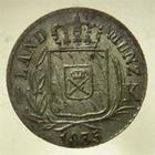 Photo numismatique  Monnaies Monnaies étrangères Allemagne Bayern (Bavière) Kreuzer BAVARIA, BAVIERE, BAYERN, LOUIS Ier, kreuzer 1835, TTB