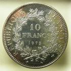 Photo numismatique  Monnaies Monnaies Françaises Cinquième république 10 Francs 10 Francs DUPRE 1973, G.813 SUPERBE à FDC R!