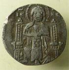 Photo numismatique  Monnaies Monnaies Byzantines 13ème siècle Grosso BYSANCE, LORENZO TIEPOLO, Venise 1268.1275, grosso d'argent, 1.70 grammes, Paolucci 20.1 TTB