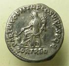 Photo numismatique  Monnaies Empire Romain TRAJAN, TRAJANUS, TRAIAN, TRAIANO Denier, denar, denario, denarius TRAJANUS, TRAIAN, TRAJAN, Denier frappé à Rome en 114.117, Parthico….RIC.315 TTB