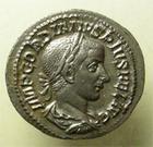 Photo numismatique  Monnaies Empire Romain GORDIEN III, GORDIAN III, GORDIANUS III, GORDIANO III Denier, denar, denario, denarius GORDIANUS III, GORDIEN III, denier frappé à Rome en 241, Laetitia augn, RIC.113 SUPERBE+