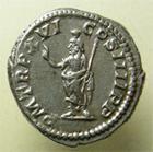 Photo numismatique  Monnaies Empire Romain CARACALLA Denier, denar, denario, denarius CARACALLA, Denier frappé à Rome en 213, Serapis, RIC.208a TTB à SUPERBE