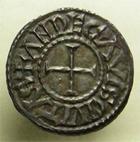 Photo numismatique  Monnaies Monnaies Carolingienne Eudes Denier, denar, denario, denarius EUDES, 888.898, denier Angers, G.50, P.286, SUPERBE bel exemplaire!