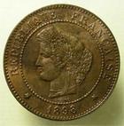Photo numismatique  Monnaies Monnaies Fran�aises Troisi�me R�publique 5 Centimes 5 centimes type C�r�s, 1898 A, G.157 a TTB+