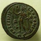 Photo numismatique  Monnaies Empire Romain LICINIUS I, LICINIO I,  Follis, folles,  LICINIUS I, Follis Rome, 314.315, RIC.23 SUPERBE restes d'argenture