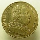 Photo numismatique  Monnaies Monnaies Françaises Louis XVIII 20 Francs or LOUIS XVIII, 20 francs au buste habillé, 1814 A Paris, G.1026 TTB