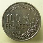 Photo numismatique  Monnaies Monnaies Françaises 4ème république 100 Francs 100 francs Cochet 1954 B, G.897 SUPERBE