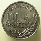 Photo numismatique  Monnaies Monnaies Françaises 4ème république 100 Francs 100 francs Cochet 1955, G.897 Q.FDC