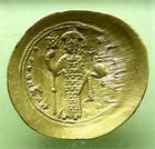 Photo numismatique  Monnaies Monnaies Byzantines 11ème siècle histamenon CONSTANTINUS X, CONSTANTIN X, Doukas, 1059.1067, histamenon, Constantinople, R.2010 Variante, Q.SUPERBE