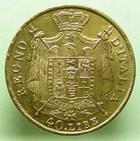 Photo numismatique  Monnaies Monnaies Françaises Napoleonides 40 Lires or NAPOLEON Ier, 40 lires or 1814 M Milan, Gigante 82 TTB/TTB+