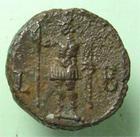 Photo numismatique  Monnaies Colonies Romaines Claudius II, Claude II, Gothicus 268.270 Tétradrachme CLAUDIUS II Gothicus, CLAUDE II le gothique, tétradrachme d'Alexandrie, Alexandria, Arès, 10.40 grms, D.5384 TTB