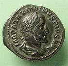 Photo numismatique  Monnaies Empire Romain MAXIMIN I, MAXIMINUS I, MAXIMINO I Denier, denar, denario, denarius MAXIMINUS I, MAXIMIN Ier, denier frappé à Rome en 236.238, Fides militum, RIC.18 A SUPERBE/TTB+