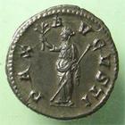 Photo numismatique  Monnaies Empire Romain MAXIMIN I, MAXIMINUS I, MAXIMINO I Denier, denar, denario, denarius MAXIMINUS I, MAXIMIN Ier, denier frappé à Rome en 235.236, Pax augusti, RIC.12 SUPERBE